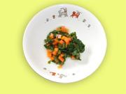 小松菜とにんじんの煮物