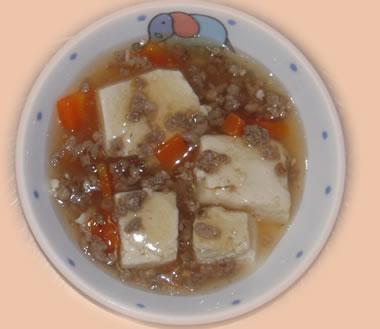 麻婆豆腐風