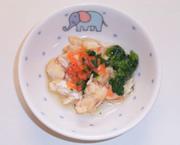 魚と野菜の炊き合わせ