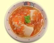 豆腐の野菜あんかけ煮