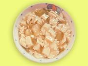 豆腐ときゅうりのあんかけ煮
